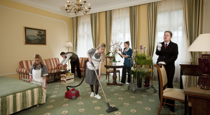 pairing cleaning workers