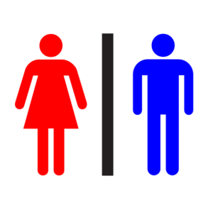 restrooms designed for cleaning
