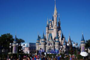 cleaning Walt Disney